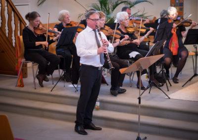 Markus Egger  spielt  u.a. Klezmer Musik
